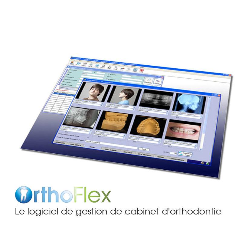 Logiciel de gestion de cabinet Orthoflex